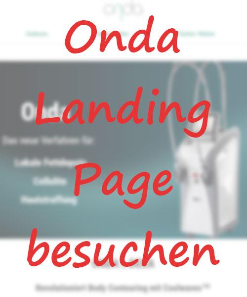 Onda Landingpage